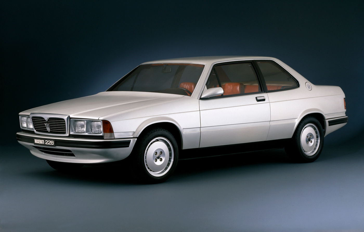 1987 Maserati 228 Biturbo - the classic car model in white