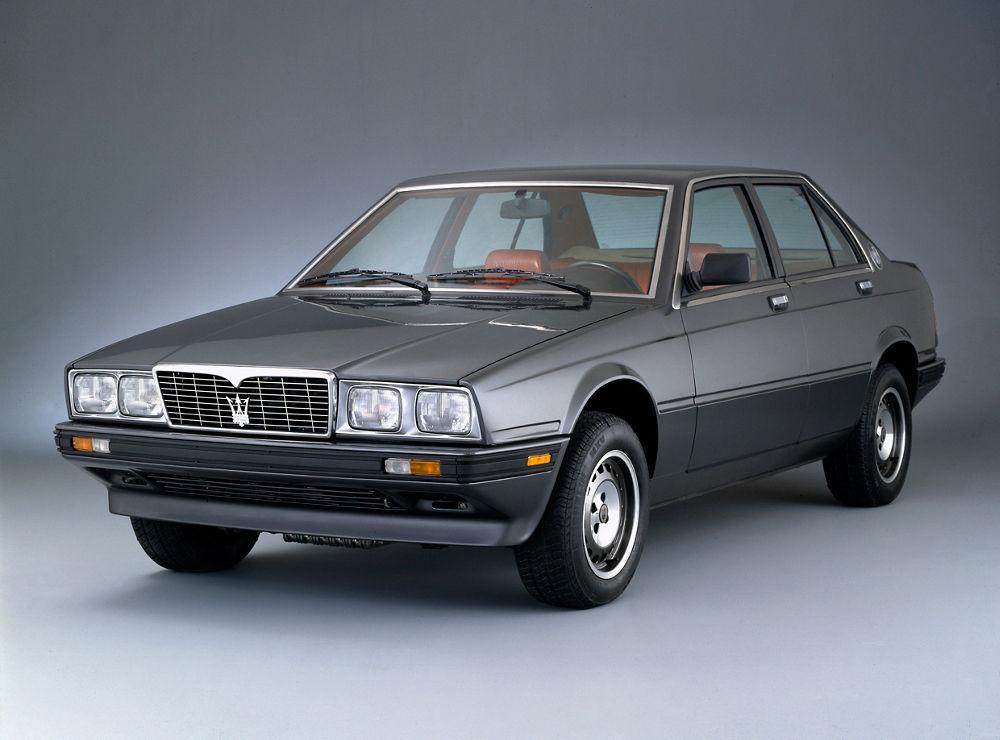 Maserati Classic - Biturbo Export (1983 - 1991)   Maserati Canada