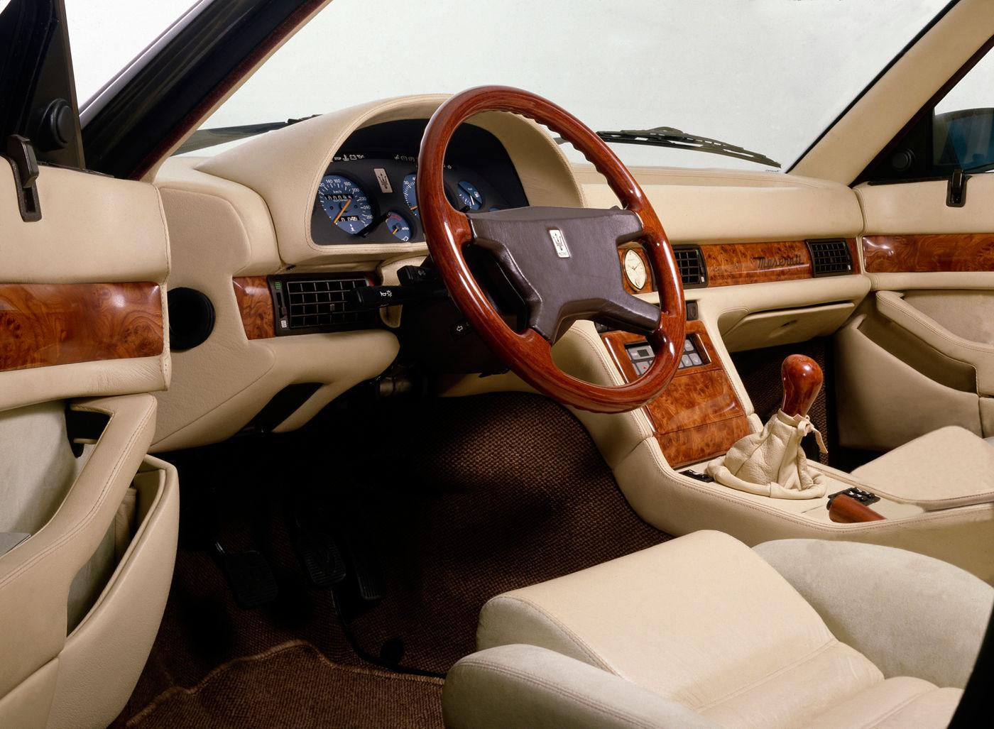 Maserati Classic - Biturbo 430 - design intérieur