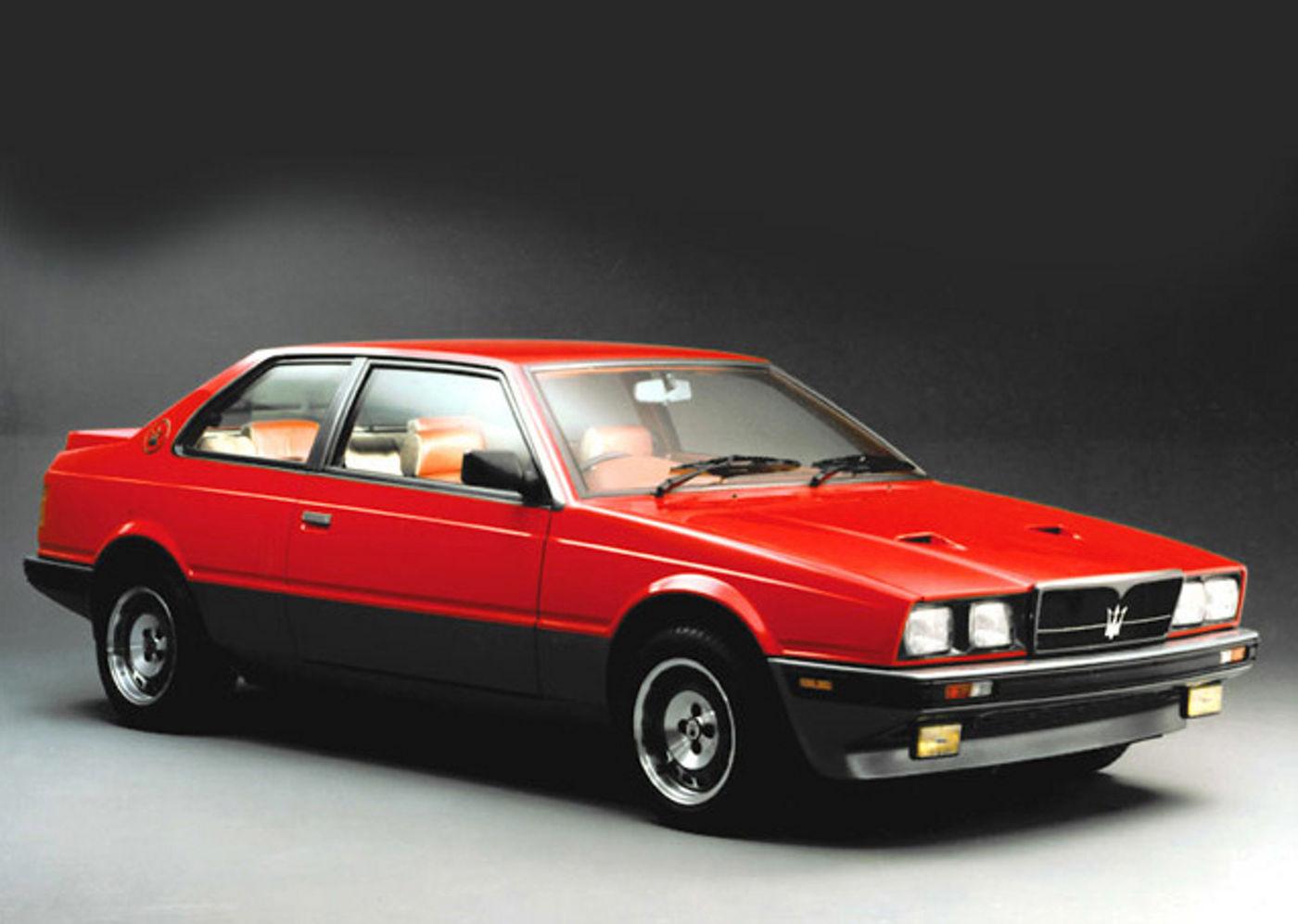 1983 Maserati Biturbo Export - 2.5liter version of the classic car model