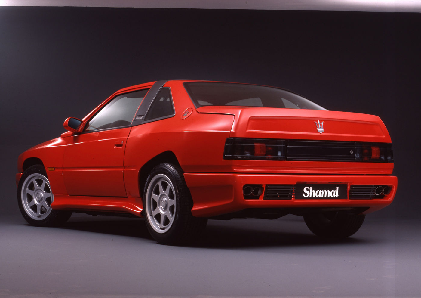 1990 Maserati Shamal - Biturbo - classic sports car model in red