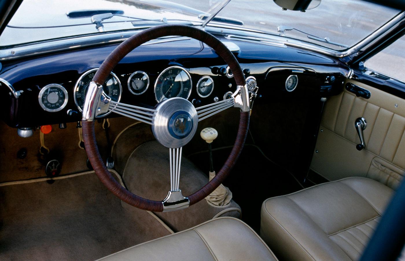 Maserati Classic - GranTurismo 1500 - design intérieur