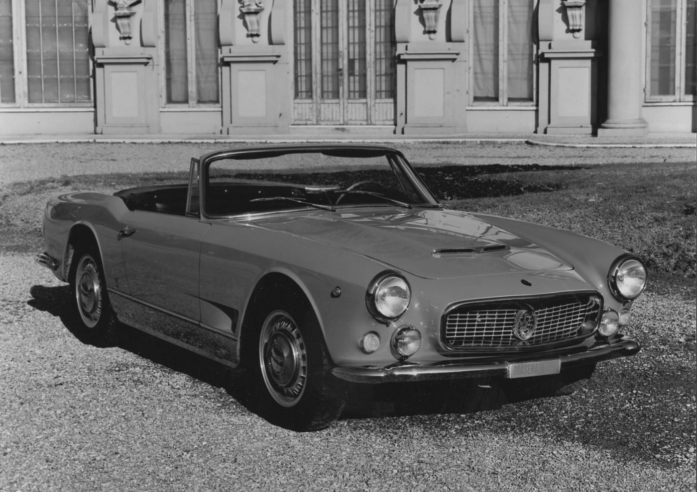 1958 Maserati 3500GT Spyder - the classic open-top GranTurismo