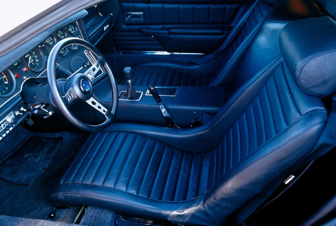 1971 Maserati Bora - classic sports car model, interior view