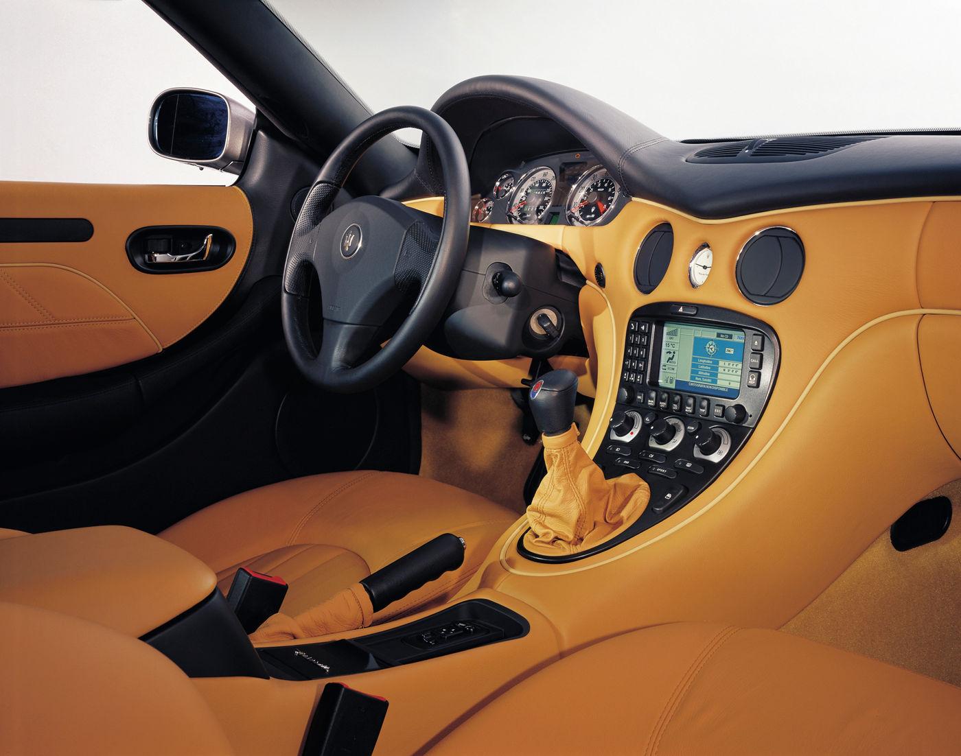 Maserati Classic - GranTurismo Coupe - design intérieur