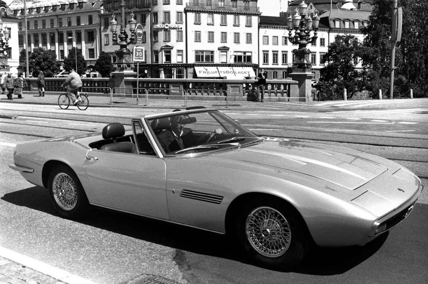 Maserati Classic - GranTurismo Ghibli Spyder - vue latérale
