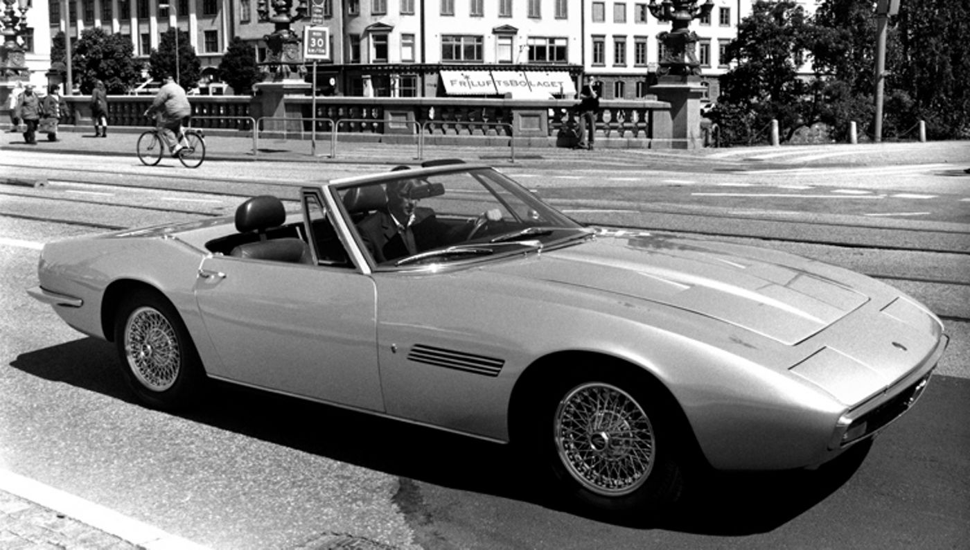 Maserati Classic - Ghibli Spyder - vue latérale - essai routier