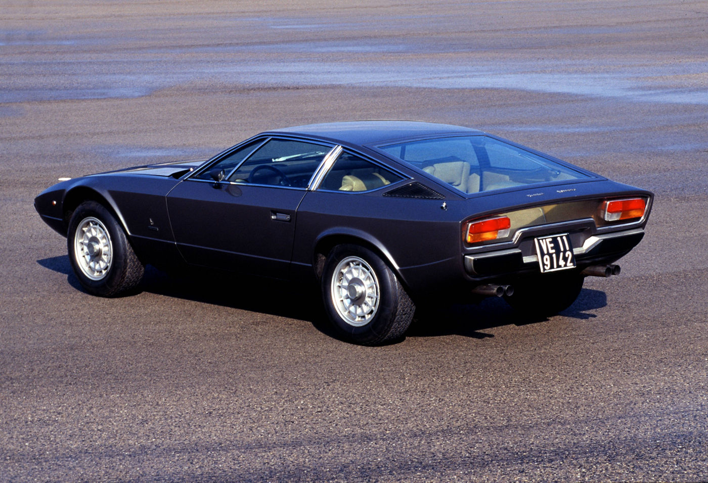 1974 Maserati Khamsin - exterior view of the classic 2-door coupe