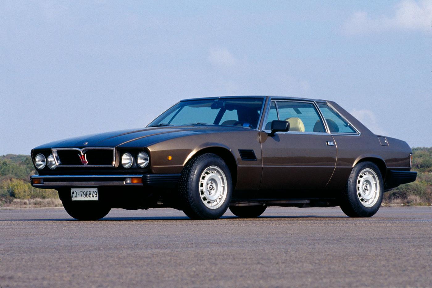 Maserati Classic - GranTurismo Kyalami - carrosserie marron - vue latérale