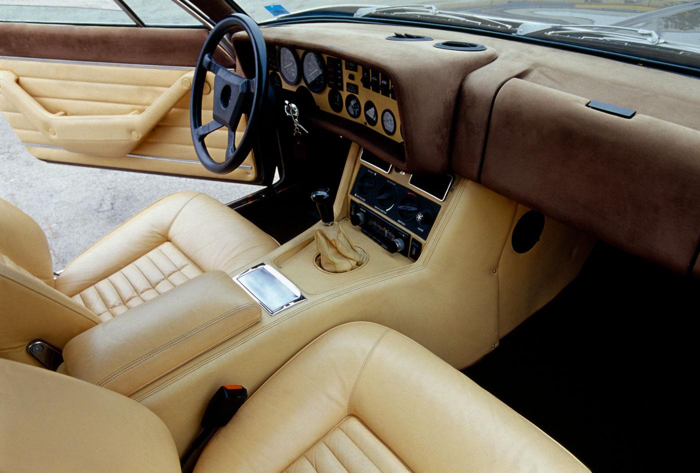 Maserati Classic - GranTurismo Kyalami - design intérieur