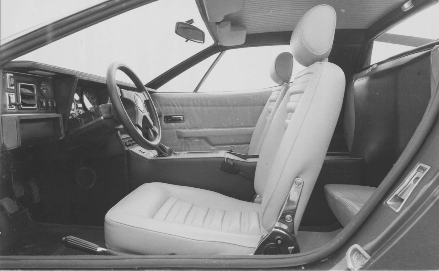 Maserati Classic - GranTurismo Merak - design intérieur