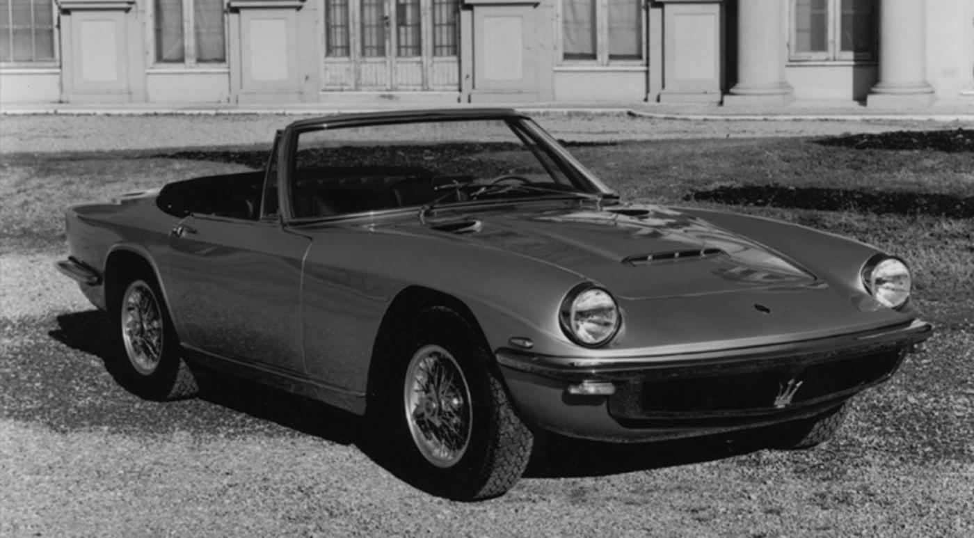 Maserati Classic - Mistral Spyder - vue latérale