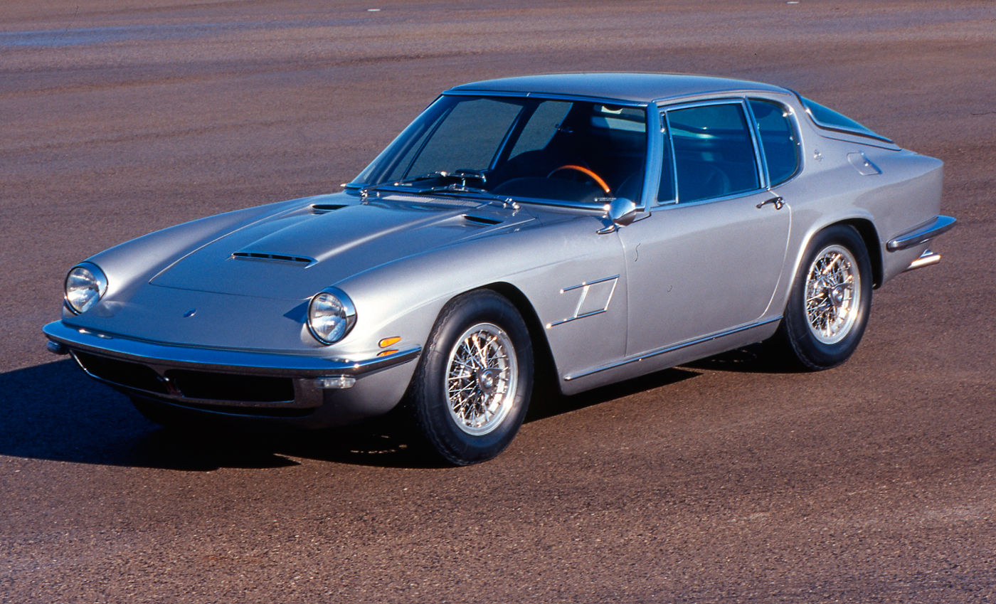 1964 Maserati Mistral - a gray version of the classic car model