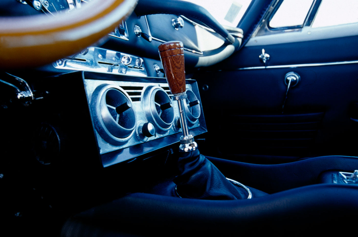 1964 Maserati Mistral - interior view of the classic sports car model