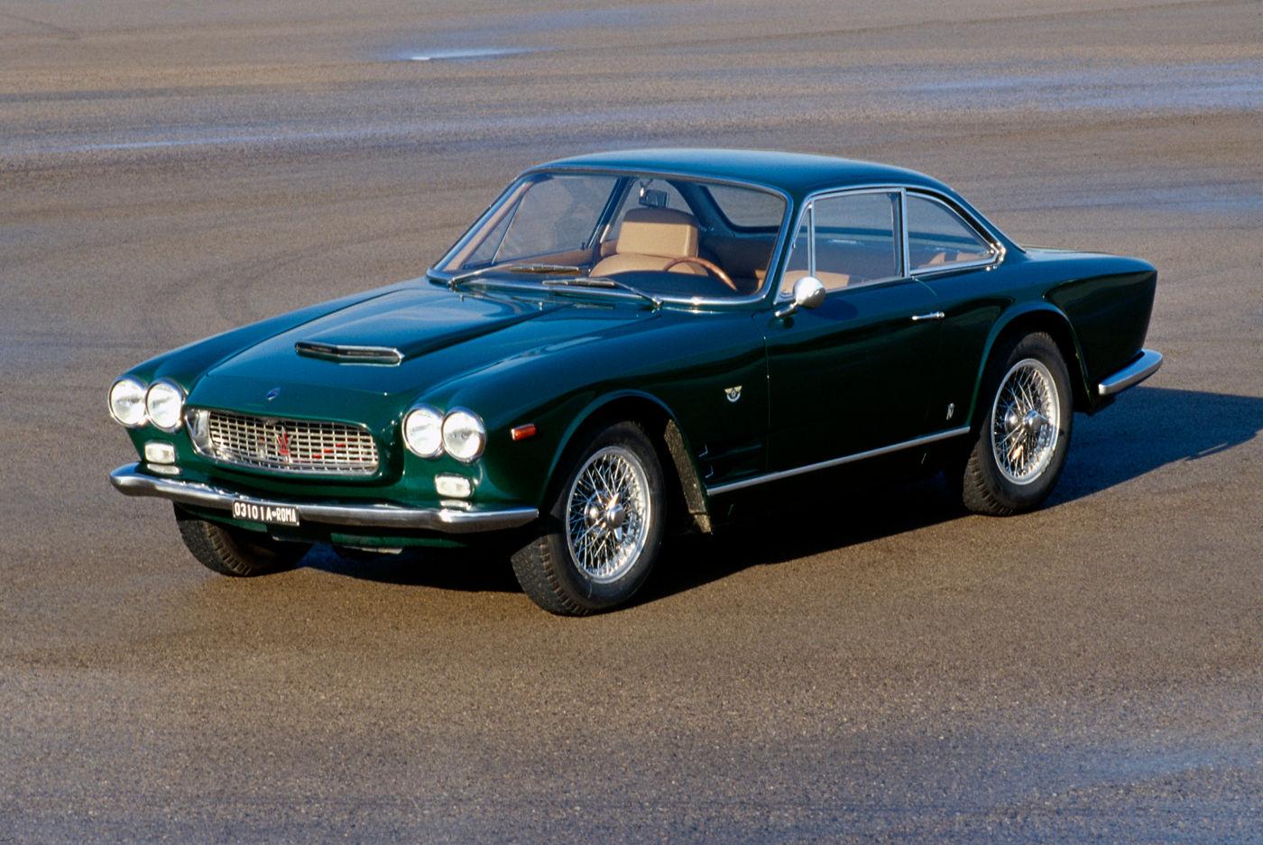 Maserati Classic - GranTurismo Sebring - carrosserie verte - vue latérale