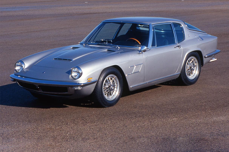 Blue Maserati Classic - GranTurismo Mistral - Side view