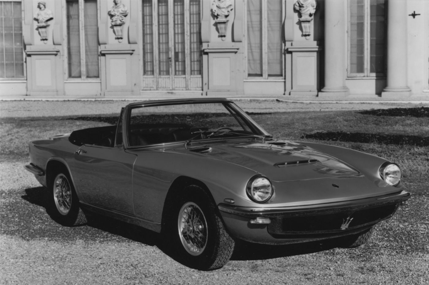 1964 Maserati Mistral Spyder - the classic sports car convertible