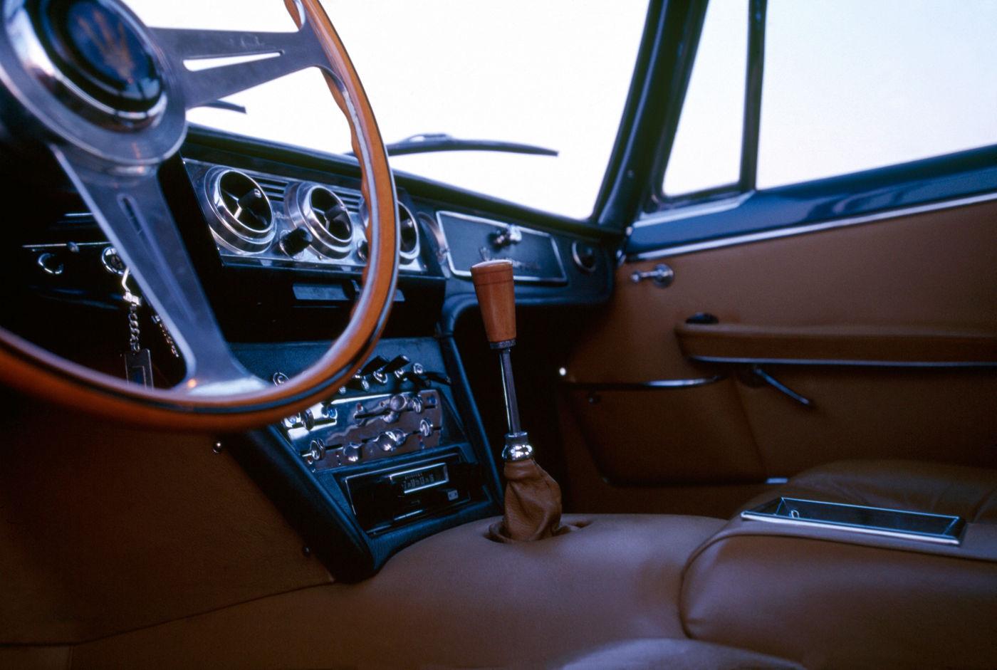 Maserati Classic - Quattroporte I - design intérieur