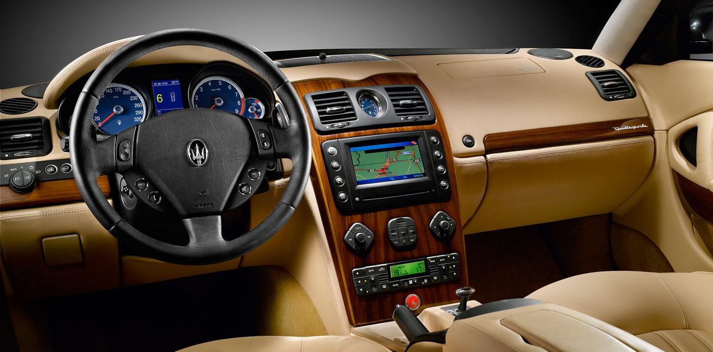Maserati Classic - Quattroporte V Duoselect - design intérieur