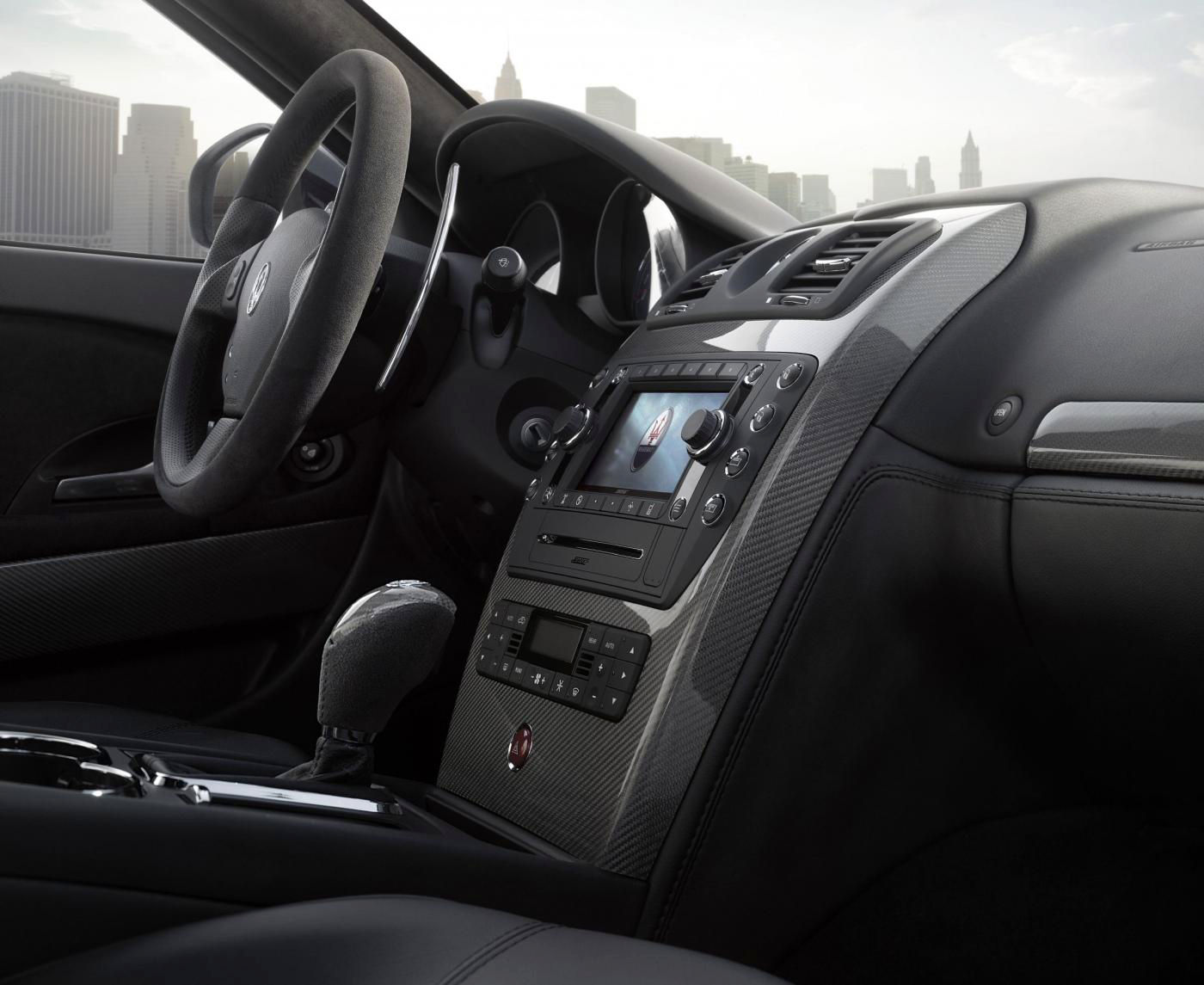 2008 Maserati Quattroporte V Restyling - interior details of the 4-door sedan