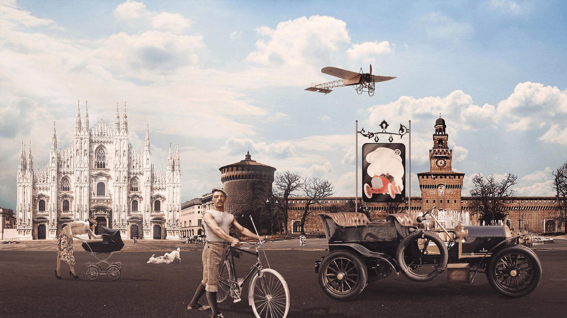Storia di Maserati - 1900: auto d'epoca a Milano