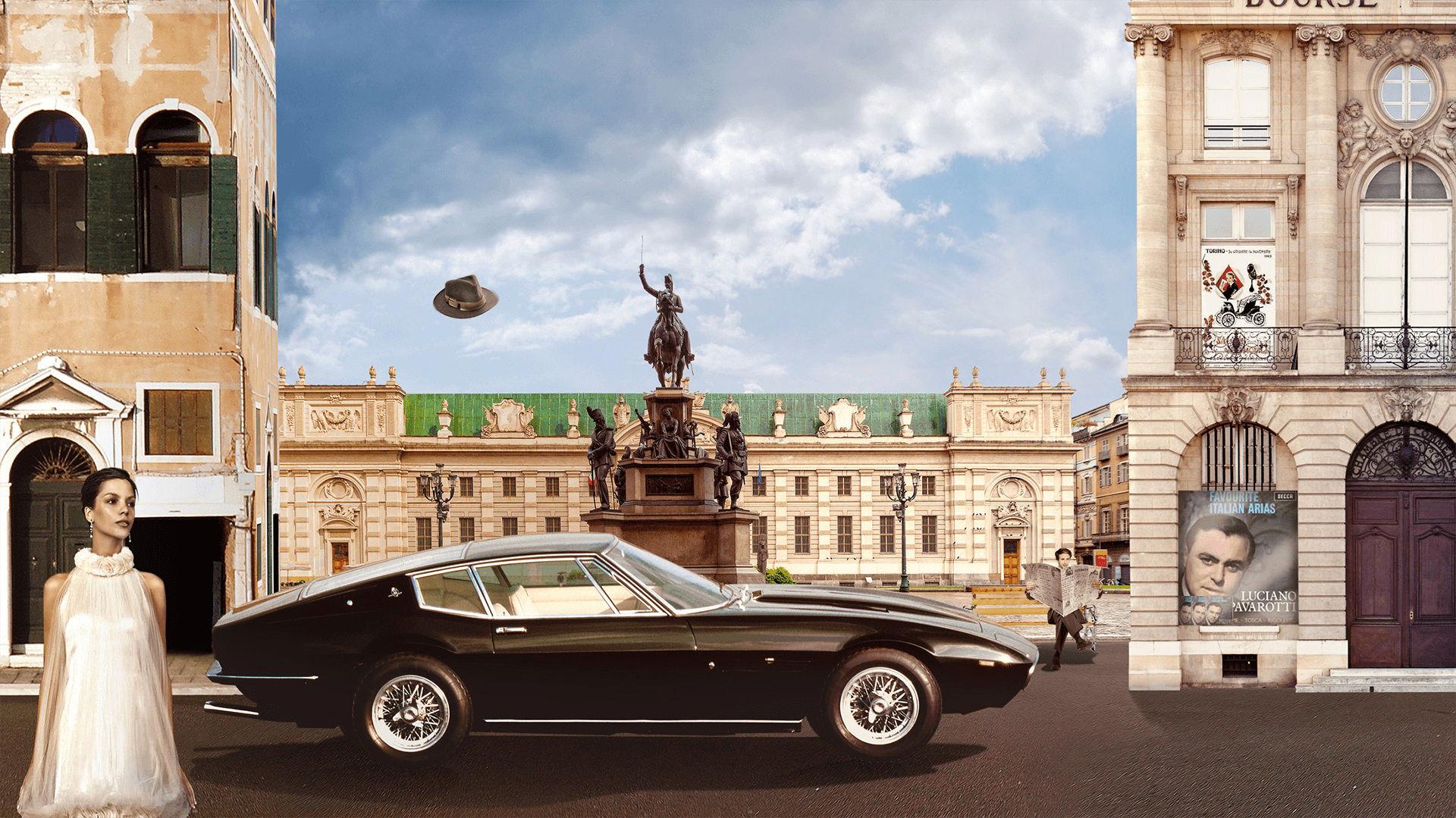 Storia di Maserati - 1960: prima Maserati Ghibli a Torino