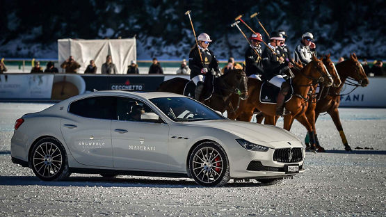High octane start of the Maserati Polo Tour 2017 at the Snow Polo World Cup St Moritz