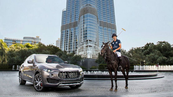 Maserati Polo Tour 2016 gains speed in Dubai