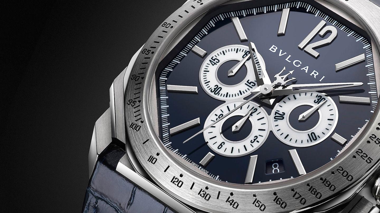 Maserati Partnership with Bulgari - Watch design