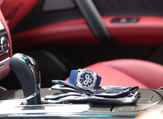 Partnership Maserati and Bulgari - Interior design and Bulgari watch