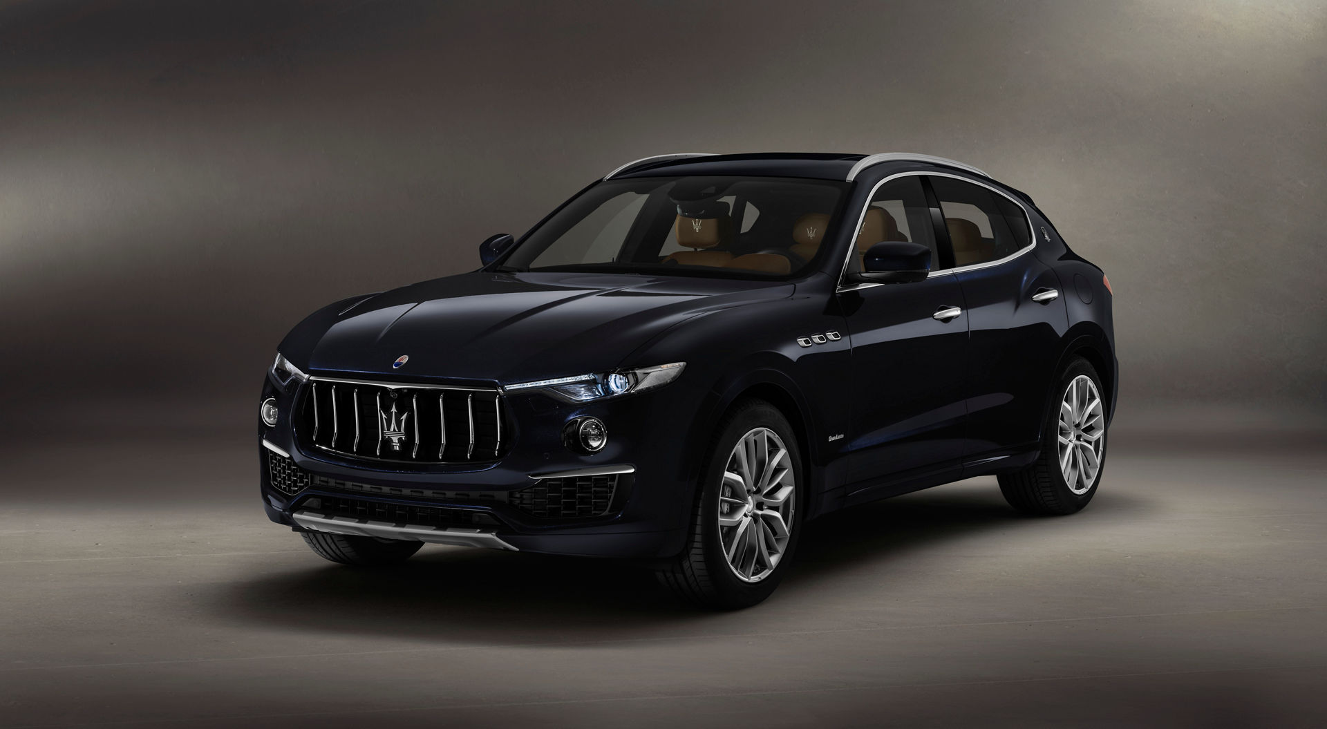 Maserati Levante GranLusso Nero sièges marron
