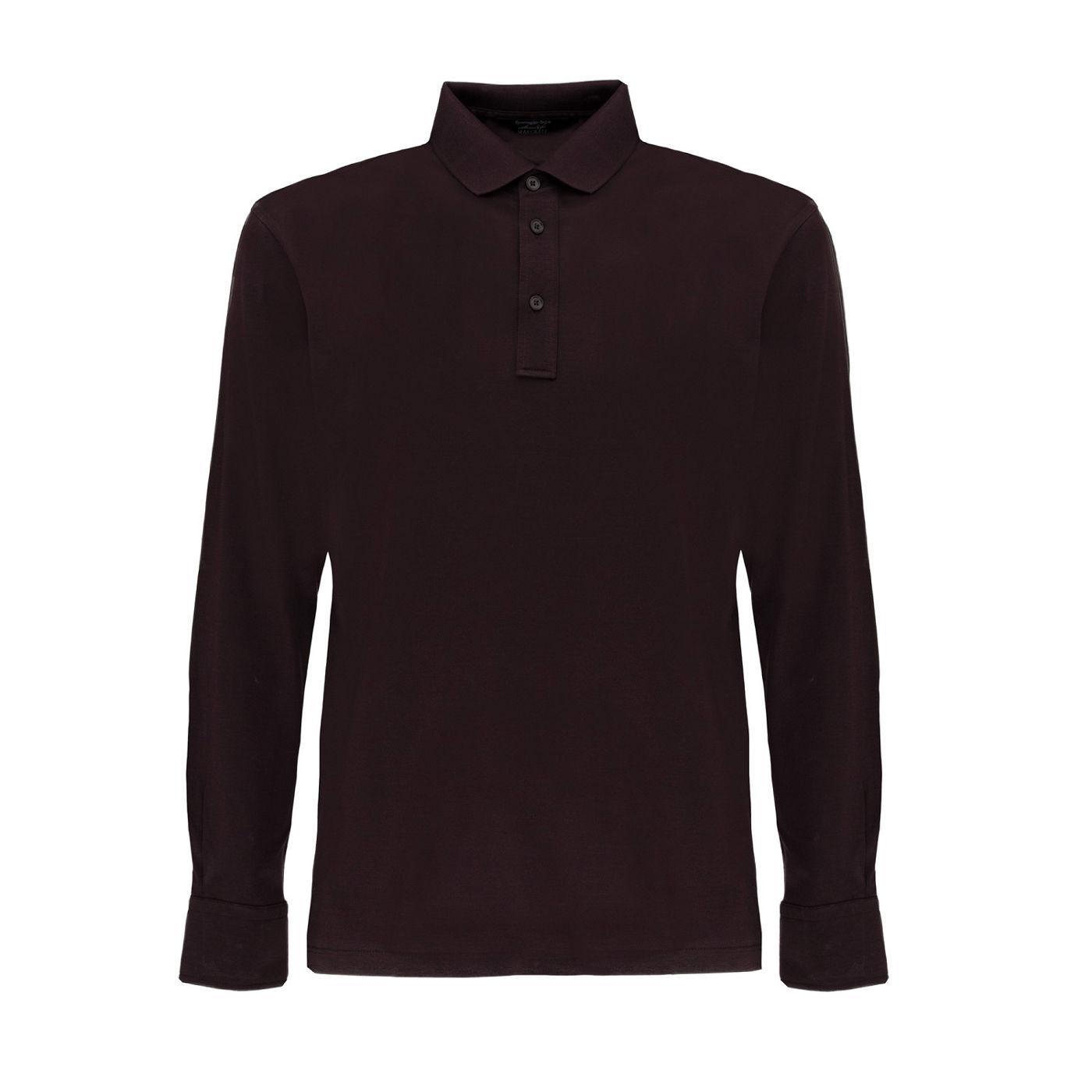 Ermenegildo Zegna pour Maserati chemise marron