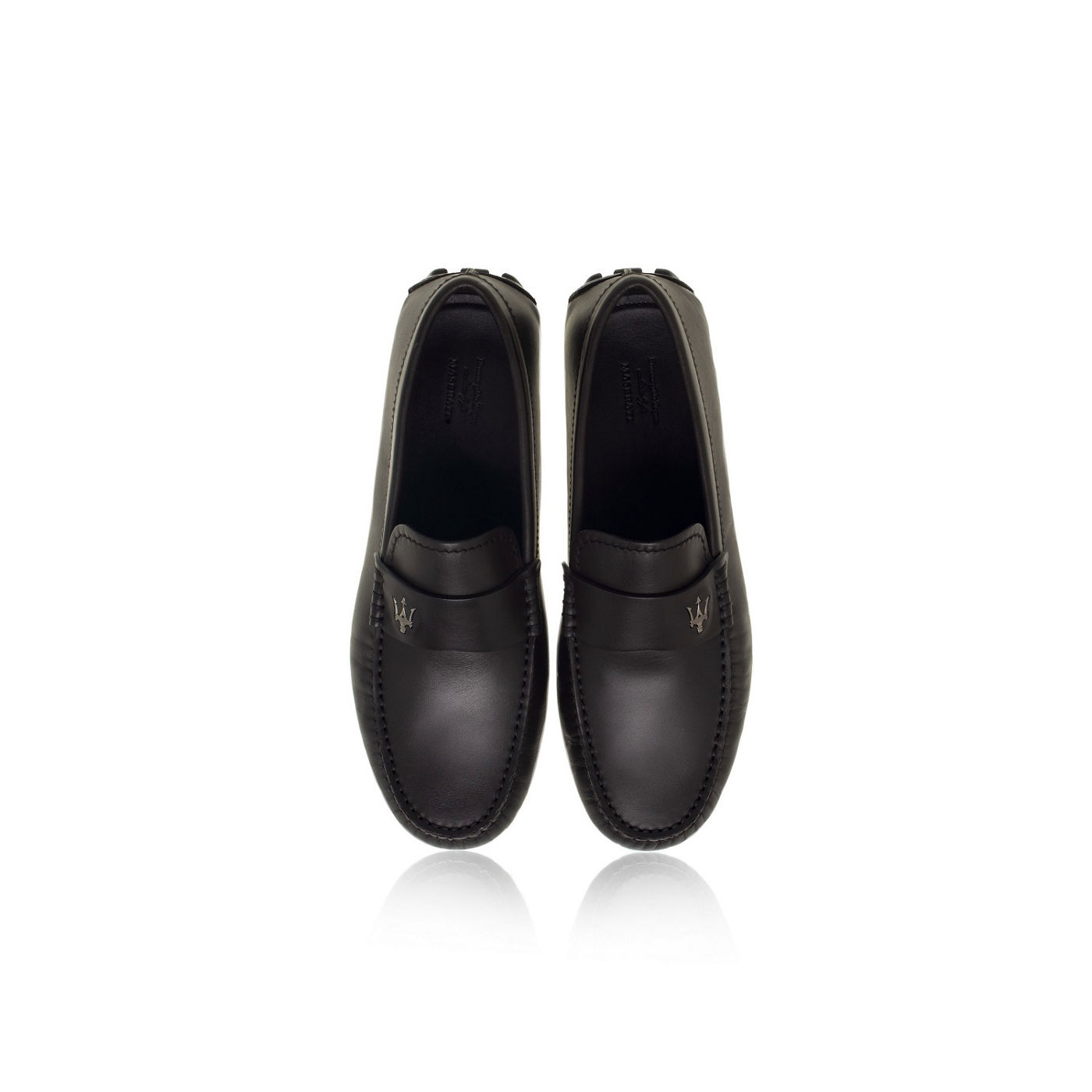 Ermenegildo Zegna pour Maserati chaussures en cuir
