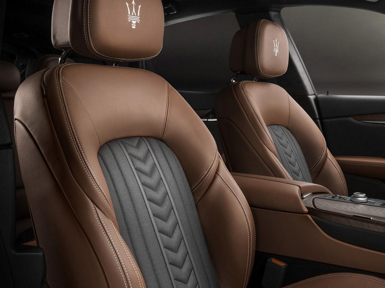 Maserati interiors by Ermenegildo Zegna