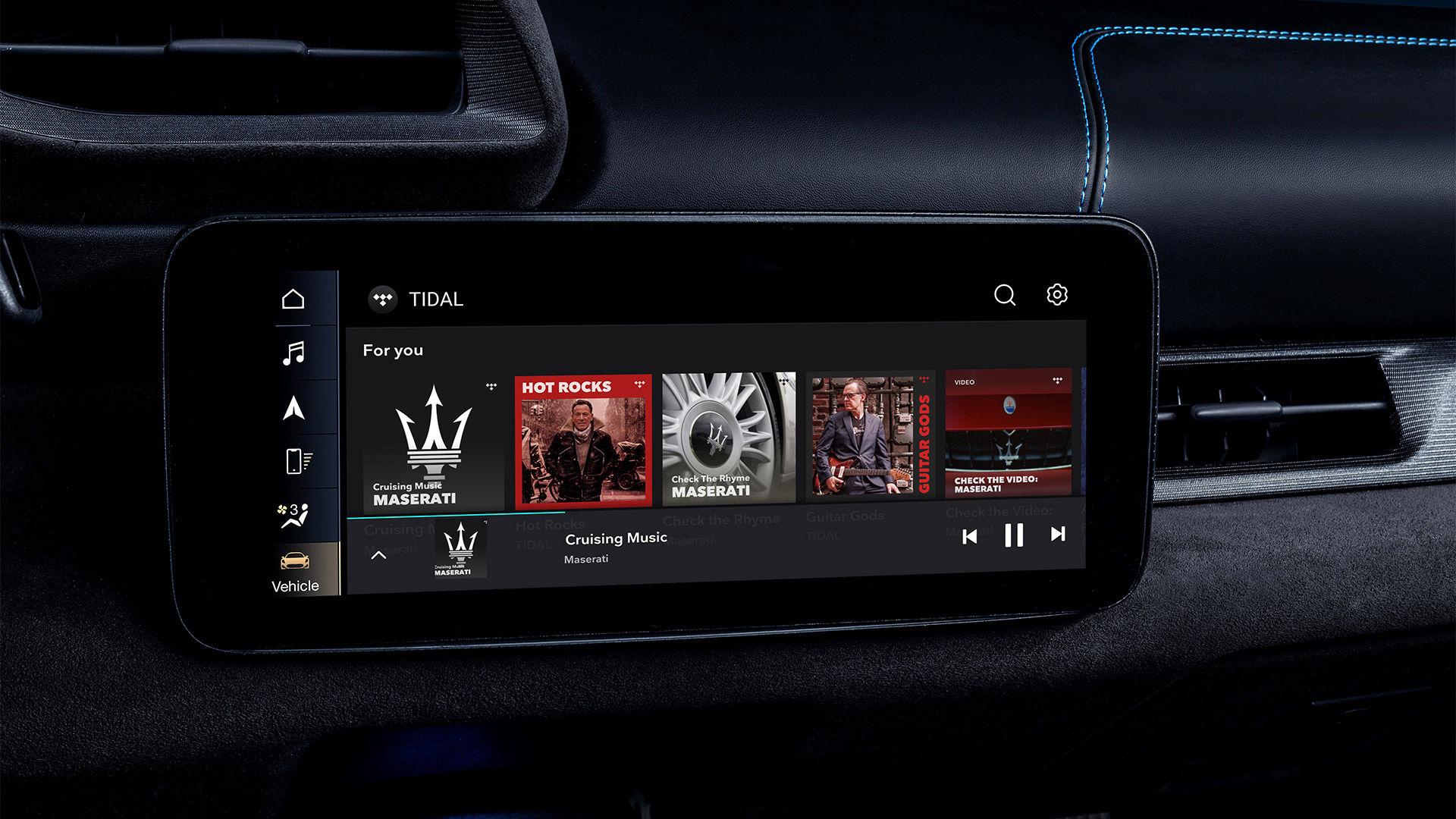 Partnerschaft Maserati und TIDAL: Infotainment für Maserati-Fahrer