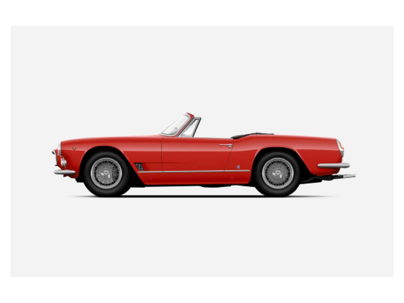 1960 3500 GT Vignale Spyder - Historische Maserati-Autos