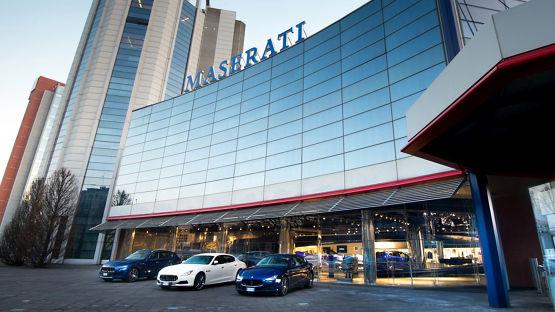 Die Maserati Factory Tour in Modena | Maserati CH