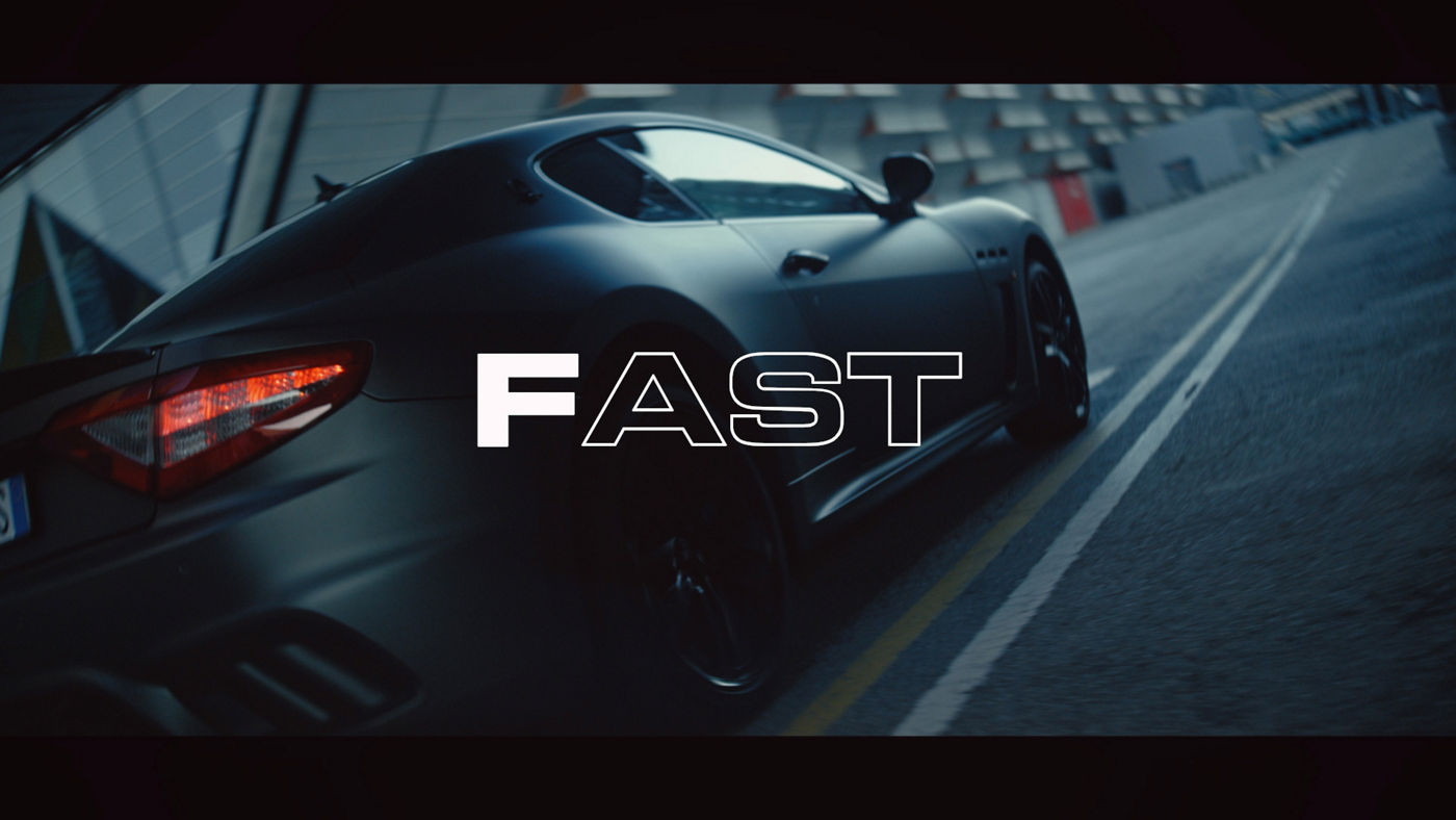 Fast | The Maserati Alphabet