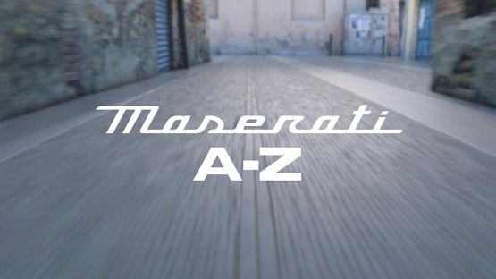 Maserati von A bis Z.