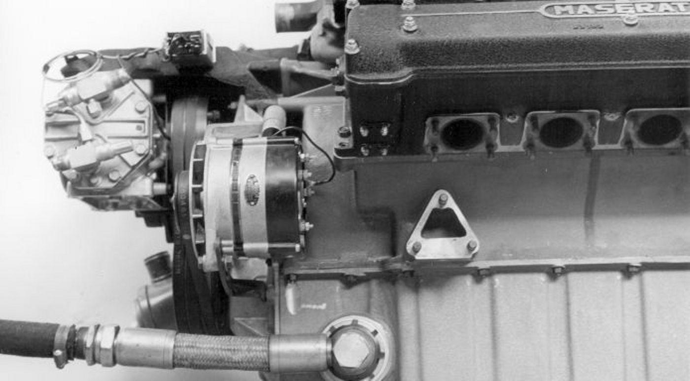 Maserati moteur ancien