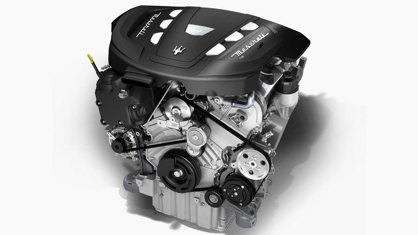 Maserati motor for Ghibli, Levante and Quattroporte model - V6 Diesel