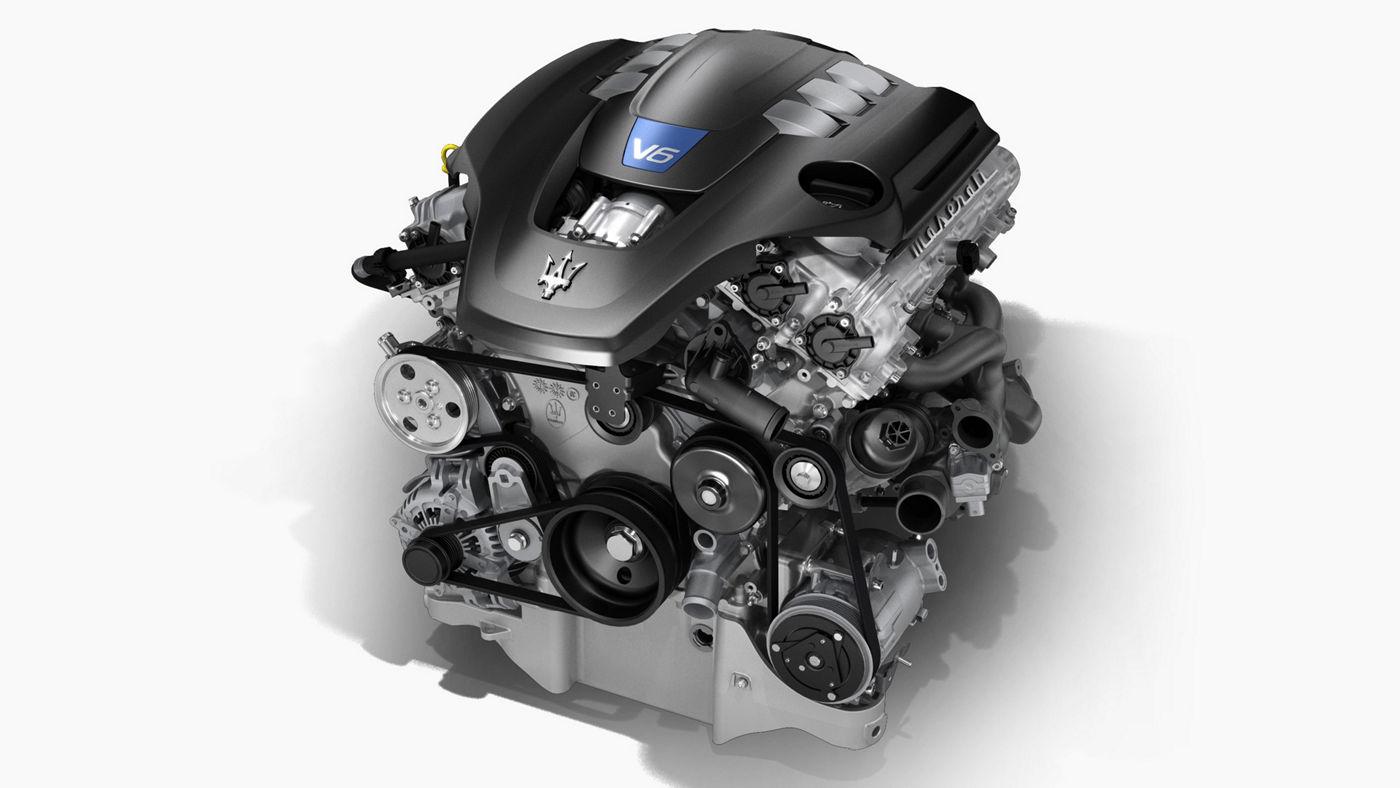 Maserati motor for Ghibli, Levante and Quattroporte model - V6 Petrol