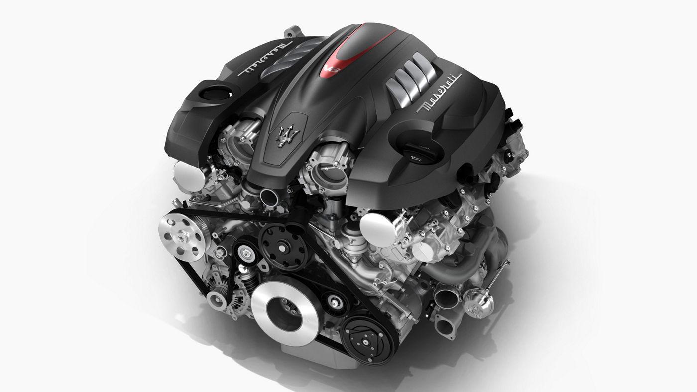 Maserati motor for Quattroporte model - V8 Petrol
