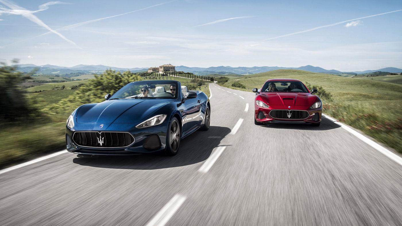 Maserati Gran Turismo und Gran Cabrio MY 2018