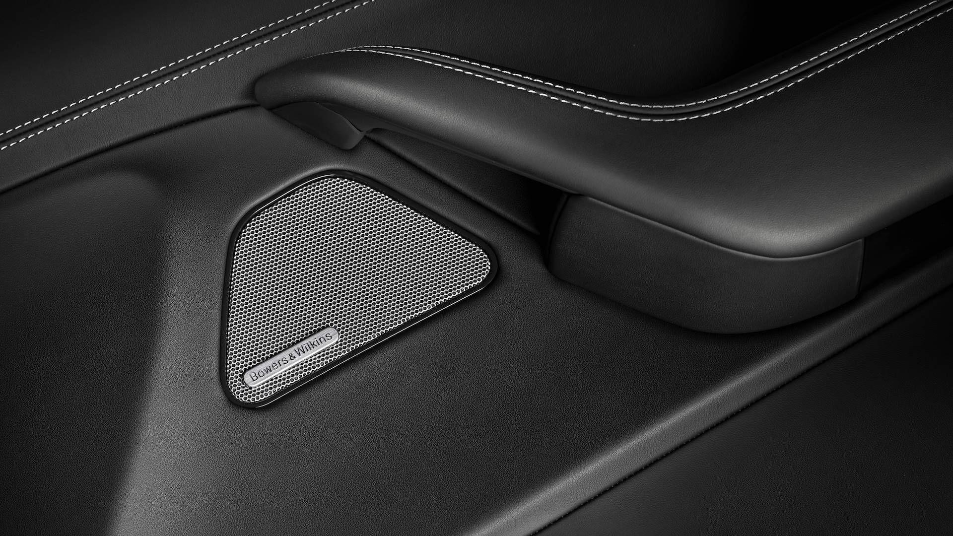 Maserati Levante: Bowers & Wilkins Surround Sound system detail