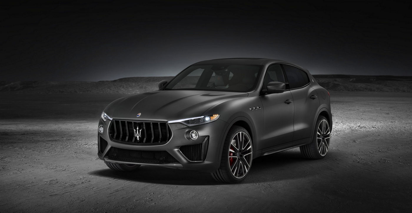 Maserati Levante Trofeo V8: an overview of the new Maserati SUV
