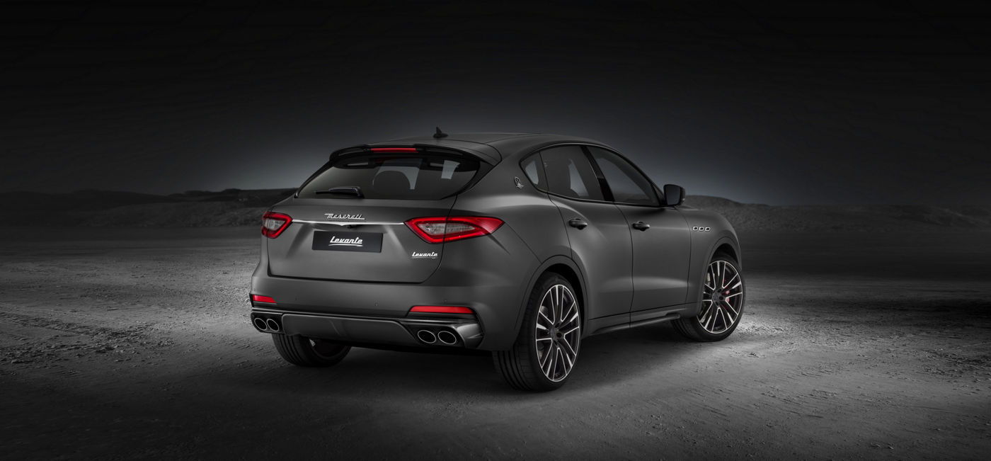 Levante Trofeo V8: the Maserati SUV in a brand new shape