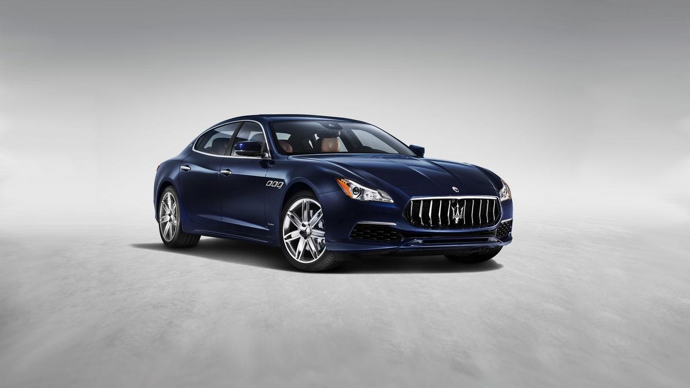 Maserati Quattroporte GranLusso - Blu