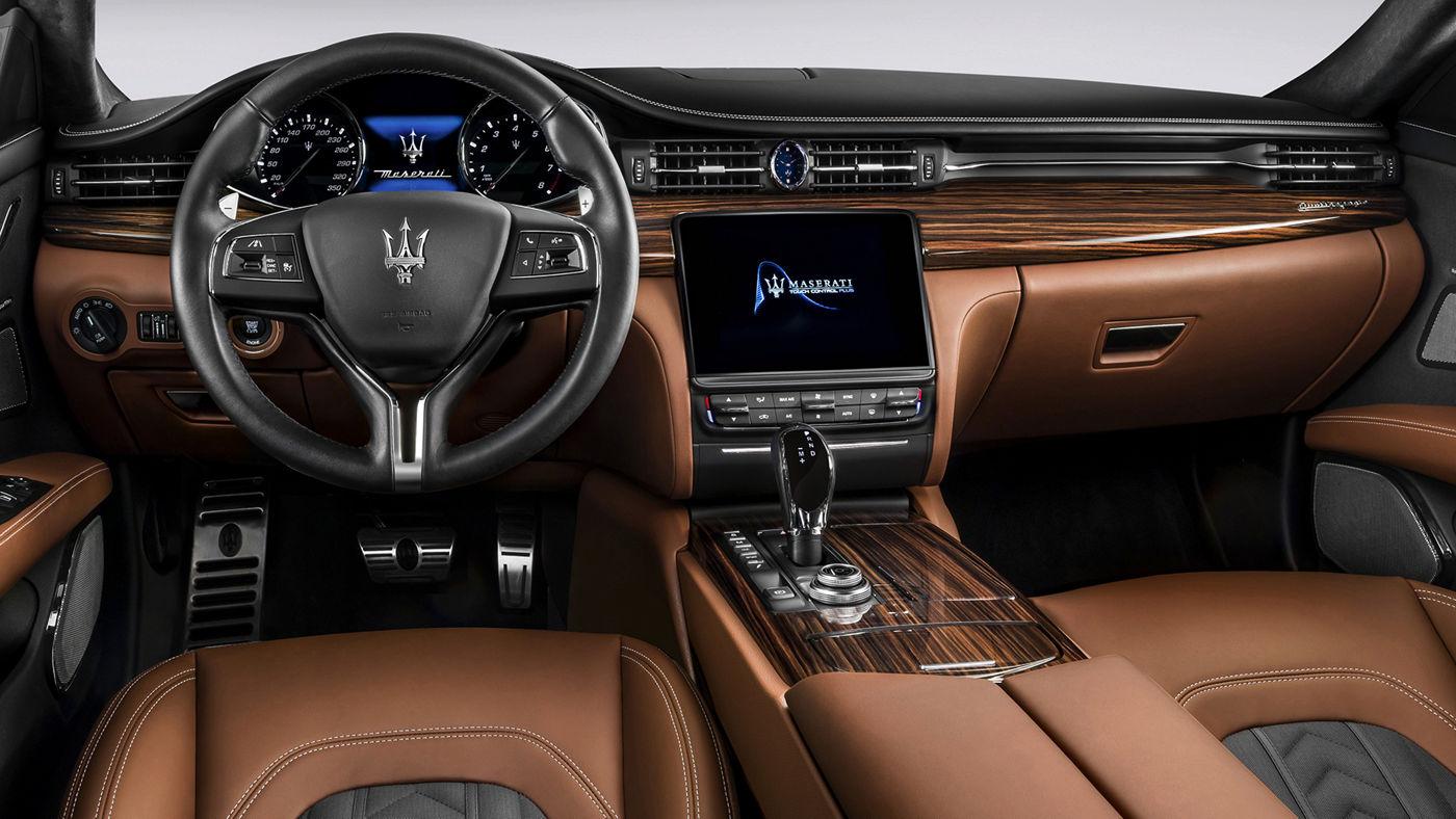 Maserati Quattroporte GranLusso - Design sellerie sièges et intérieur