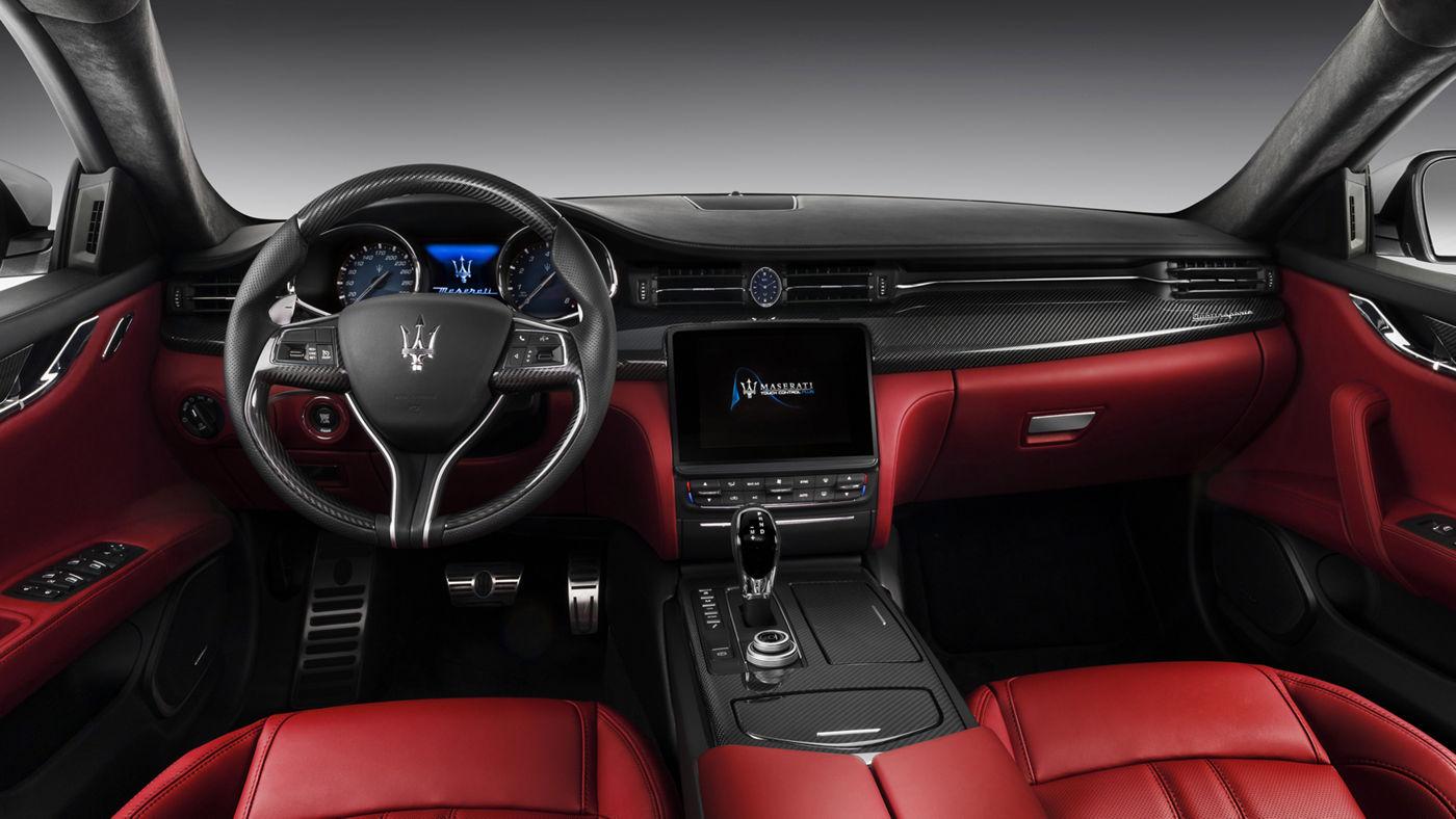 Maserati Quattroporte GranSport - Design sellerie sièges et intérieur